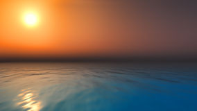 Sunset ocean Royalty Free Stock Image