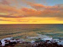 Sunset ocean Stock Image
