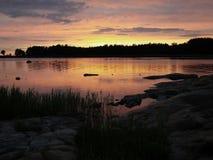 Sunset ocean Royalty Free Stock Photos