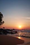 Sunset on the ocean, Stock Photo
