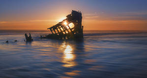 Shipwreck  Peter Iredale Stock Photography