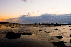 sunset oceanu Zdjęcie Royalty Free