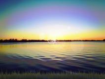 Free Sunset On Lake Stock Image - 98226651