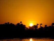 Sunset On Nile Royalty Free Stock Photo