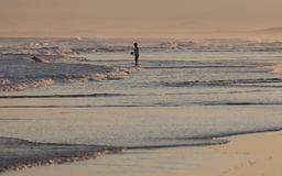 Free Sunset On Stockton Beach. Anna Bay. Australia. Royalty Free Stock Photography - 37183777