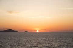 Sunset royalty free stock image