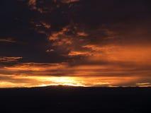 Sunset over Albuquerque Stock Photos