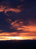 Sunset over Albuquerque Stock Images