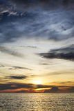 Sunset over Andaman Sea Stock Photos