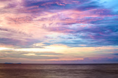 Sunset over Andaman Sea Royalty Free Stock Images