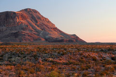 Sunset Over Big Bend Royalty Free Stock Photography