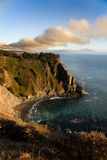 Sunset over the Big Sur - California Royalty Free Stock Photos