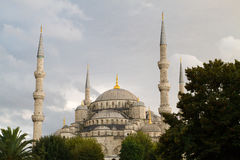 Sunset over Blue Mosque Royalty Free Stock Photography