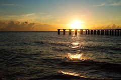 Sunset over boca grande, florida Stock Image