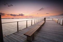 Sunset over Botany Bay Sydney Australia Stock Photography