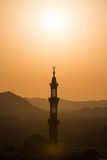 Muslim mosque in desert Stock Image