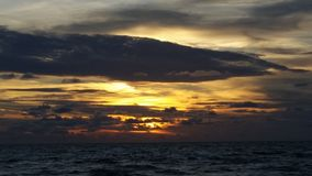 Sunset over the Gulf of Mexico, Florida Stock Photos