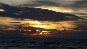 Sunset over the Gulf of Mexico, Florida Stock Images