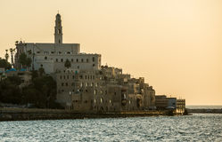 Sunset over Jaffa Stock Photography