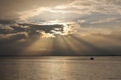 Sunset over Key Largo Royalty Free Stock Images