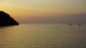 Sunset over ko phi phi Stock Photos