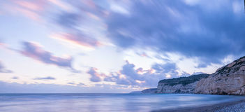 Sunset over Kourion Royalty Free Stock Photos
