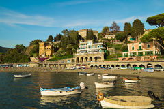 Free Sunset Over Ligurian Beach At Levanto, La Spezia,Italy Stock Photos - 59688033