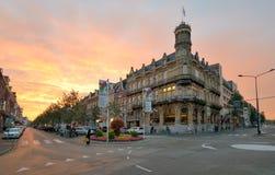 Sunset over Maastricht, Netherlands Stock Photos