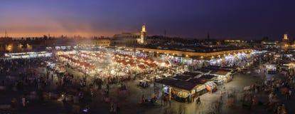 Sunset over Marrakesh Stock Image