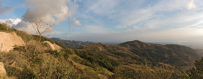 Sunset over the Monteverde Cloud Forest Reserve in Costa Rica 3 Royalty Free Stock Image