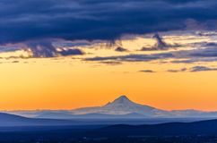 Sunset over Mt. Hood Royalty Free Stock Image