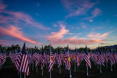 Field of Honor Royalty Free Stock Images
