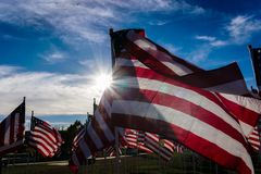 Field of Honor Royalty Free Stock Photo