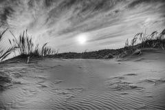 Sunset over namib naukluft Royalty Free Stock Photography