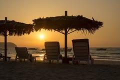 Ngapali Beach Sunset - Myanmar (Burma) Stock Photography