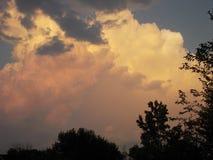 Sunset over Niagara falls Royalty Free Stock Photos