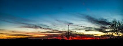 Sunset over North Georgia Stock Image