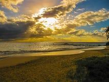 Maui Sunset beach Stock Image