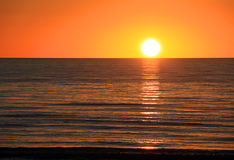 Sunset over Ocean.  Larg's Bay, Australia Stock Photography