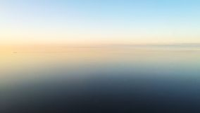 Sunset over the ocean Stock Photos
