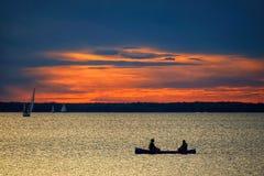 Free Sunset Over Ottawa River Stock Image - 221449721