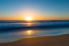 Sunset over Pacific. Stock Image