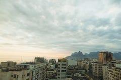 Sunset over Rio de Janeiro cityscape Stock Photo