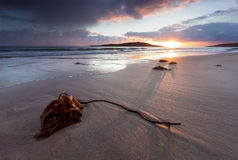 Sunset over Sands Bay Stock Photography