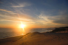 Free Sunset Over Sea Royalty Free Stock Photography - 35906197