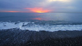 Sunset Over Sea. Royalty Free Stock Photo