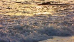 Sunset over Sea stock video