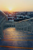 Sunset over Seville Royalty Free Stock Image