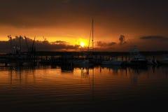 Sunset Over Skull Creek 27 Royalty Free Stock Photo