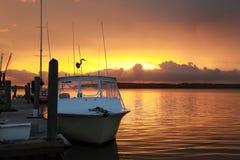 Sunset Over Skull Creek 20 Stock Images